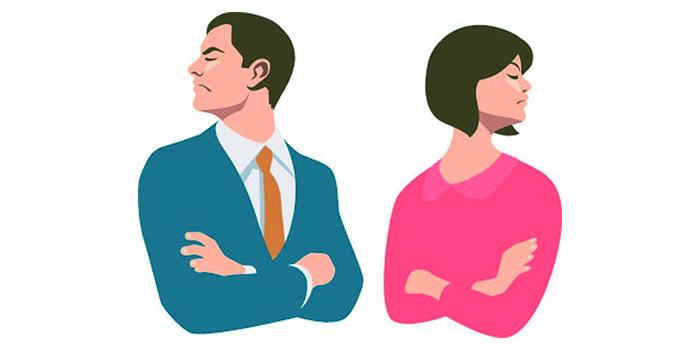 separação dos pais será recebida pelos filhos de maneiras diferentes